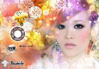 Diamond-barbie-chocolate softlens