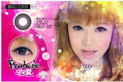 barbie-Princess-violet softlens