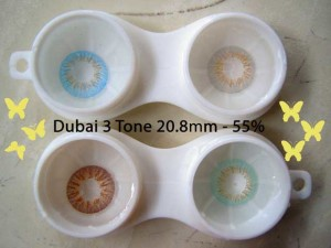 NEW DUBAI 3 TONE Softlens