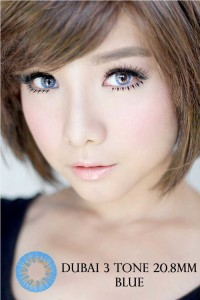 NEW DUBAI 3 TONE Softlens Blue