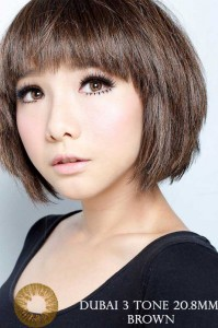 NEW DUBAI 3 TONE Softlens Brown