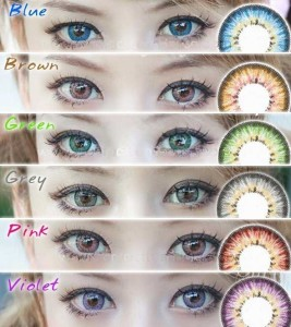 New Puffy 3 tones Softlens