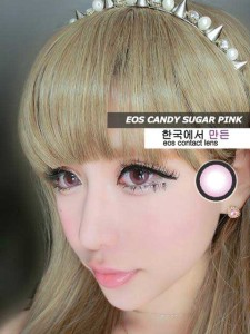 new eos-candy sugar softlens korea-pink