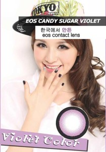 new eos-candy sugar softlens korea-violet